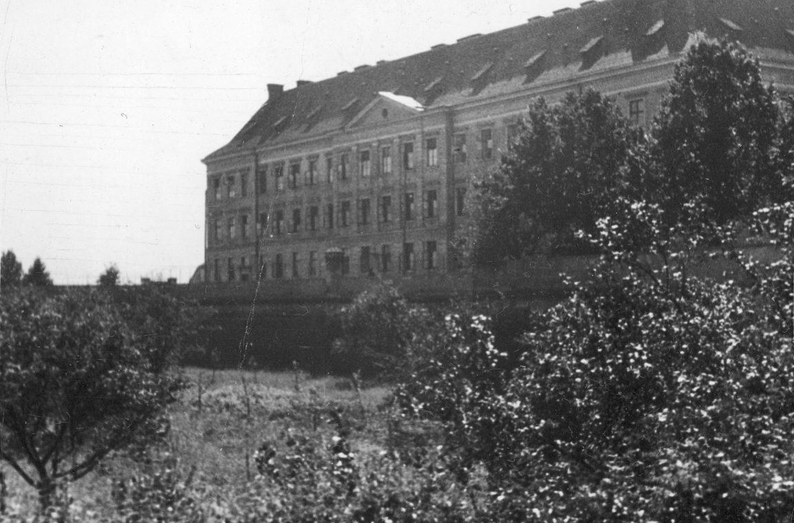 Budynek więzienia w Rzeszowie, rok 1933