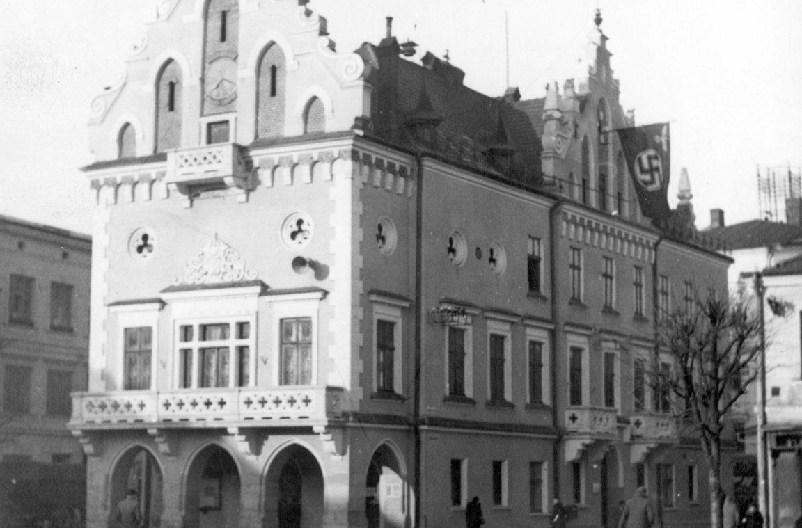 Ratusz w Rzeszowie, rok 1939-1945