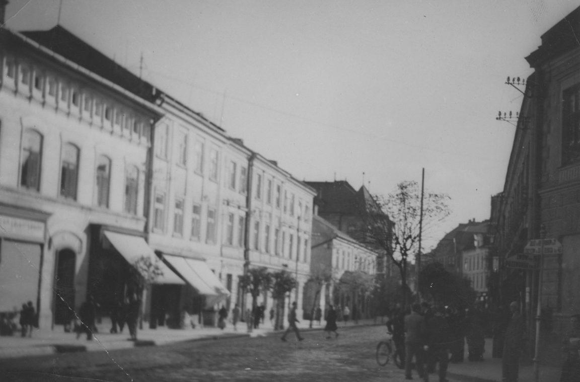 Rzeszów, jedna z ulic miasta