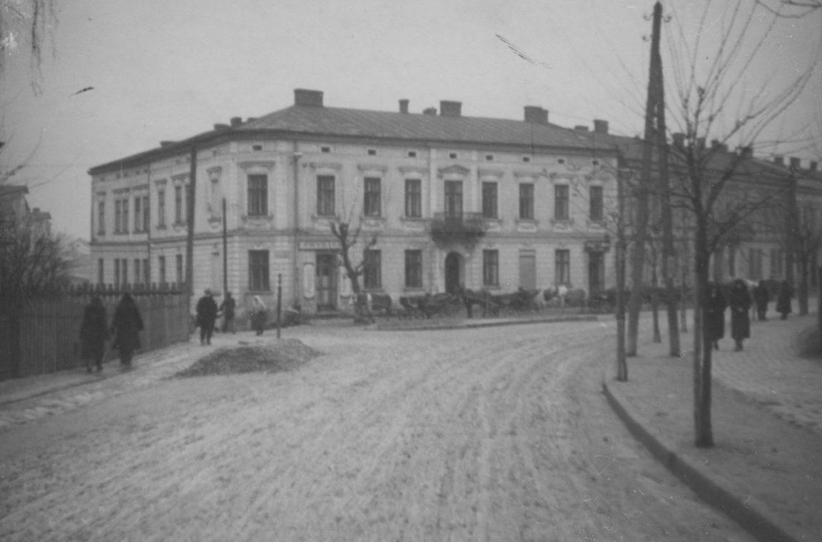 Widok kamienicy Mazura w Rzeszowie, rok 1918- 1932