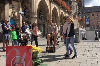 Street animator Munich