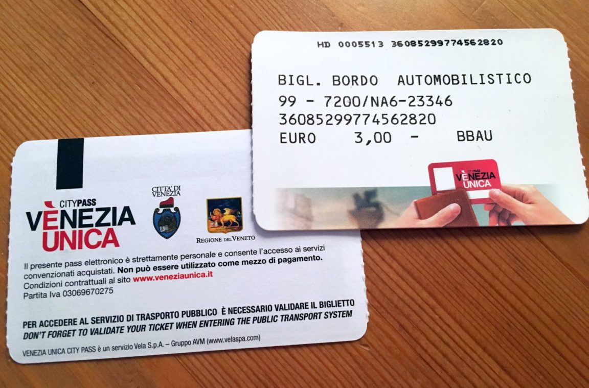 Venezia Unica Ticket (Citypass)